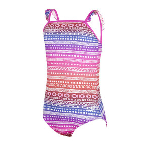 Zoggs Ikat Frill Classicback Swimsuit Piger